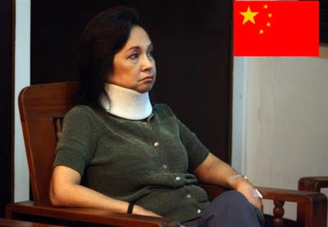 China's pet, Gloria Macapagal Arroyo